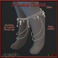 .::[HTxDZ]::. Pandora Anklets - Silver