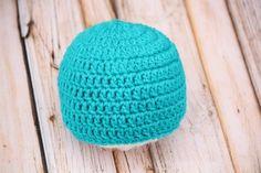 (4) Name: 'Crocheting : Basic Beginner Beanie