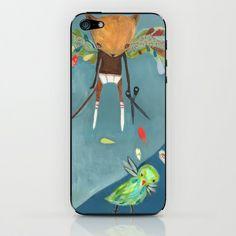 naughty kitty iPhone & iPod Skin by Mati Rose Studio - $15.00