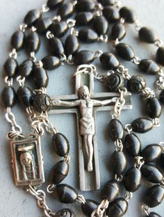 Art Deo Spanish Virgin Mary Sacred Heart o Jesus Rosary Blessed Virgin Mary Catholic Jewelry Catholic Gift Religious Catholic Silver by PinyolBoiVintage on Etsy