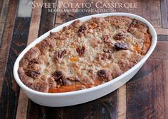 """Sweet Potato"" Casserole"