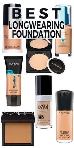 Top 7 Longwearing Foundations + Make Them Last Even LONGER!