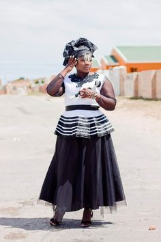 African Traditional Wear, Traditional Outfits, African Wear, African Dress, Xhosa, African Accessories, Zulu, African Prints, African Fashion Dresses