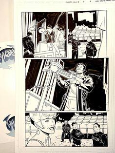 Characters from Image Comics JUPITERS CIRCLE Volume 2. You guys ready for the new Netflix series? Pencils by Chris Sprouse and inks by myself, Walden Wong. Sub me on www.youtube.com/WaldenWongArt _______________________________________ #Image #imagecomics #ChrisSprouse #pencils #waldenwongart #ink #inking #inker #makingcomics #comicart #originalcomicart #crowquill #nib #micron #drawings #kohinoor #speedball #pentelbrushpen #jupiterslegacy #jupiterscircle #markmillar #millarworld #kickass #ki Pentel Brush Pen, Comic Art, Comic Books, Mark Millar, Marvel Comics Art, How To Make Comics, Image Comics, Netflix Series, Drawing S
