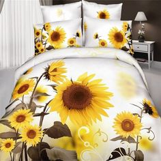 Compare Prices on Sunflower Print Bedding- Online Shopping/Buy Low ...