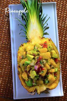Pineapple Salsa - great BBQ side