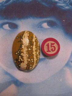 Semi Precious Gem Stone Rhyolite Polished by dimestoreemporium, $7.00