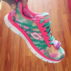 """Flamingos on your sneakers? YES PLEASE. Totally crushing these for myself…"