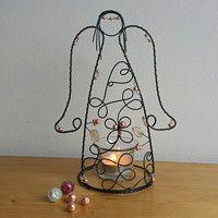 Drátování / Domov   Fler.cz Candle Holders, Candles, Christmas, Xmas, Porta Velas, Candy, Navidad, Noel, Candle Sticks