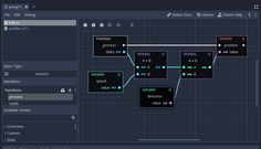 Godot Engine - Godot is out and ready for the big leagues Visual Programming Language, Data Flow Diagram, Concept Web, Android Design, Graphic Design Resume, Annual Report Design, Newspaper Design, Ui Design Inspiration, Web Design Trends