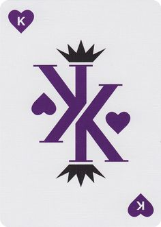 Vanda, Violet Edition Playing Cards - Art of Play
