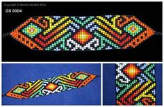 colibrí hecho con mostacillas - Buscar con Google Bead Loom Patterns, Peyote Patterns, Bracelet Patterns, Beading Patterns, Art Deco Jewelry, Beaded Jewelry, Loom Beading, Venus, Seed Beads