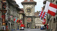 Bern Tourism in Switzerland - Next Trip Tourism Switzerland Bern, Switzerland Tourism, Travel And Leisure, Big Ben, Places Ive Been, Building, Clocks, Outdoors, Content