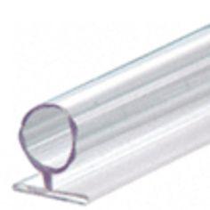 Translucent Vinyl Bulb Seal for 10mm Glass - Shower Seal (SDLB)