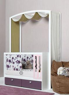 Kids canopy bed (girls) - Vibel
