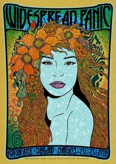 Graphic Arts | Chuck Sperry | Widespread Panic Aglaea | Art draw on the limited edition eye open