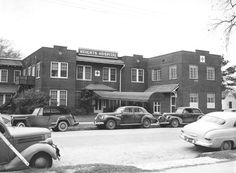 Old Houston Heights Hospital, 1940s.