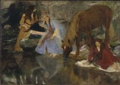 "Degas, Edgar: Portrait of Mlle Fiocre in the Ballet ""La Source"". Fine Art Print/Poster. Sizes: A4/A3/A2/A1 (003756)"