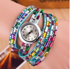 NEW Fashion Strip Bracelet Watch (Color: Light Blue) | Save upto 45% with us |  Visit our website now  uniquefashionusa.com