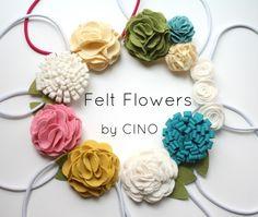 felt flower roundup