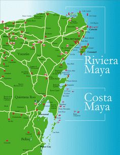 Riviera Maya, Mexico - Travel Guide and Travel Info | Tourist Destinations