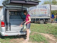 "FLEXBAG Heckabschluss VW T5 California Comfortline ab 2011, ""Classic Grey""."