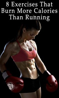 8 Exercises That Burn More Calories Than Running