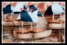 nautical shower - boat appetizers