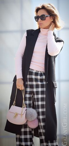 #Chlow #ChloeDrew #CheckPants #streetStyle #OfficeOutfits #OfficeOutfitIdeas #ootd #falloutfits #FallOutfitIdeas #style #FallFashion #AutumnOutfits #мода #стиль #лукдная #образдня #осеннийлук