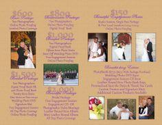 Wedding Packages - Motophoto Weddings - Motophoto & Portrait Studio #weddings #weddingprices #packages #weddingpackages #weddingphotos #weddingphotography