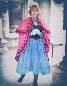Frozen Cosplay Cosplayer: Lisa Rosenberg Photographers: Jane Ferguson and Carla Haglund