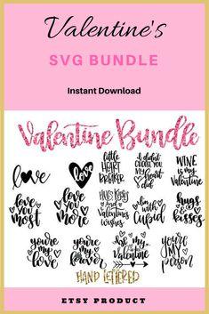 Cute Valentine's day bundle!! #ad #valentinesday #valentines #valentinesideas #cricut #svg #cricutsvg Valentine Wishes, Valentine Images, Valentines Day Date, Valentine Day Crafts, Valentine Decorations, Valentine Ideas, Happy Love Day, Day Date Ideas, Gymnastics Shirts