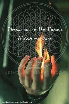 Bring Me The Horizon--- the album Sempiteternal was so powerful..