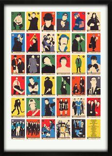 Movie Classics A to Z Print