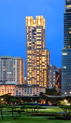 Hansar Bangkok Building Development, Thailand- design by WOHA