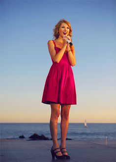 Taylor Swift..Tonight will be the best night of my life. I get to go to her concert with my best friend!! can't wait.4-26-13