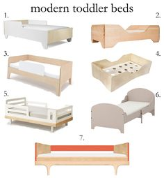 Modern toddler beds | really risa