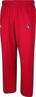 New Adidas Los Angeles Clippers Men's Sweatpants Power Red XX-Large