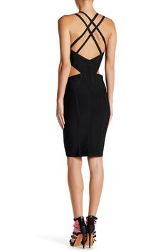Cutout Cage Bodycon Dress by Wow Couture on @HauteLook