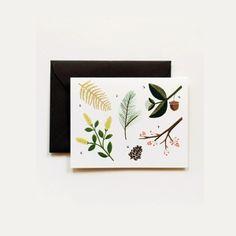 Metsä, kuorellinen kortti