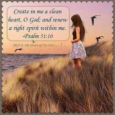 Psalm 51:10 KJV