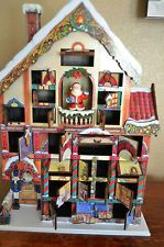 Deluxe Victorian House Christmas Advent Calendar 24 Doors Wood Wooden With Box Winter Pinterest And