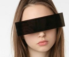 Censored! Black Bar Sunglasses
