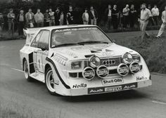 Ulster rally 1985