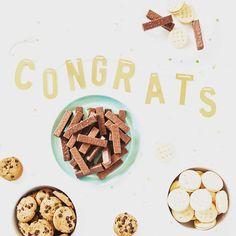 A+ students deserve A+ snacks! Congrats #grads! #glutenfree #celebrate #graduation