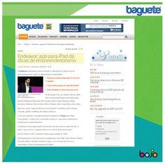 06/02/2013 - Endeavor: app para iPad dá dicas de empreendedorismo. - assessoria de imprensa - tecnologia