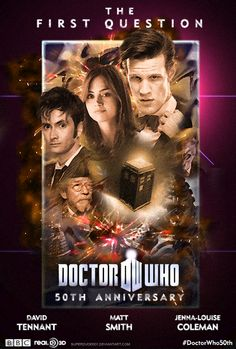Doctor Who 50th Anniversary Special - Fan Poster