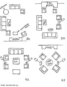 Living Room Furniture Arrangement Ideas layout website!! {there are some pretty helpful ideas here that i