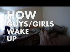 Paisley Beard: How Guys/Girls Wake Up