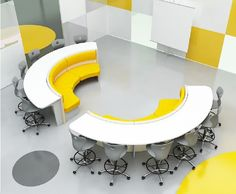 Seminario flexible seminar space 3 - Modular Furniture